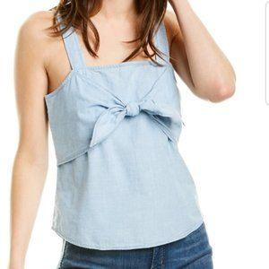 Madewell Denim Tie-Front Cami Top